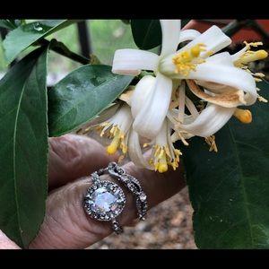 Jewelry - Diamond ring Princess set